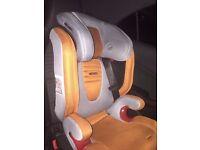 Recaro Monza Isofix Car Seat in Orange/Grey
