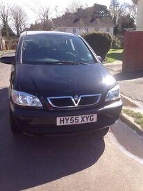 Vauxhall zafira 2005, 96000 miles