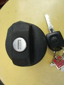 vw polo locking petrol cap and key