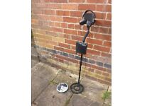 BOUNTY HUNTER TRACKER 4 MOTION METAL DETECTOR TWO COILS AND HEADPHONES