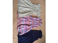 3 girls dresses age 7-8 years