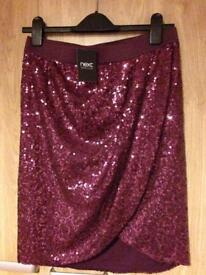 Sparkling going out skirt from Next