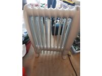 Free standing unbranded electric oil heater