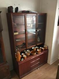 Old display cabinet