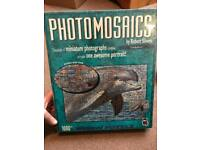 New, sealed 1,000-piece jigsaw puzzle dolphin Photomosaics by Robert Silvers