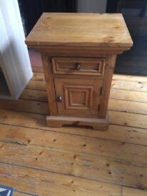 Halo Bedside Table (wood)
