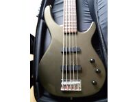 Squire MB-5 electric bass