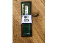 1x Brand New Kingston 4GB DDR3 PC3-10600 Desktop Memory KVR13N9S8H/4 DIMM
