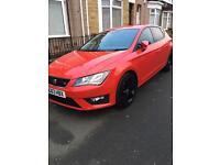 Seat Leon FR 2014 13 plate 25k mileage184BHP 2 litre TDI FR not Audi VW skoda Nissan ford