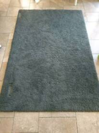Grey IKEA Hampen rug