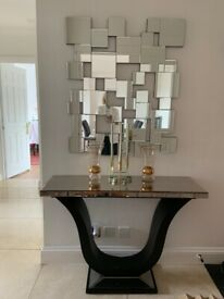 Square Tile wall mirror