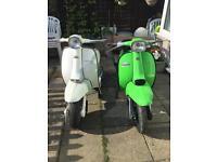 Lambretta tv200 and gp200
