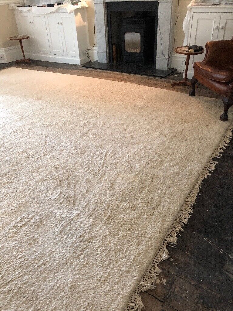 Very Large Cream All Wool Rug In Henleaze Bristol Gumtree