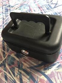 Small black cash box helix