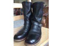 Harley Davidson motorcycle boots leather uk size 10