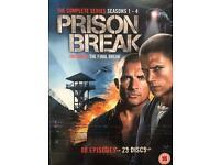 Prison Break - Series 1-4 - Complete (2011, 23-Disc Set, Box-set)