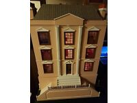 Dolls House - Georgian Style - Montgomery Hall