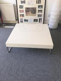 Office white coffee table