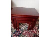Mahogany Nest of Tables