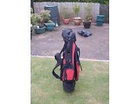 Ryder golf stand bag.