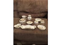 10 piece Aynsley collection