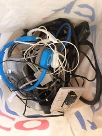 Bag of Miscellaneous Cables & Wires (free)