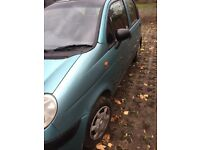 Daewoo Matiz 2004 Green 5 door Petrol