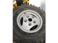 9 Landrover tyres size 16