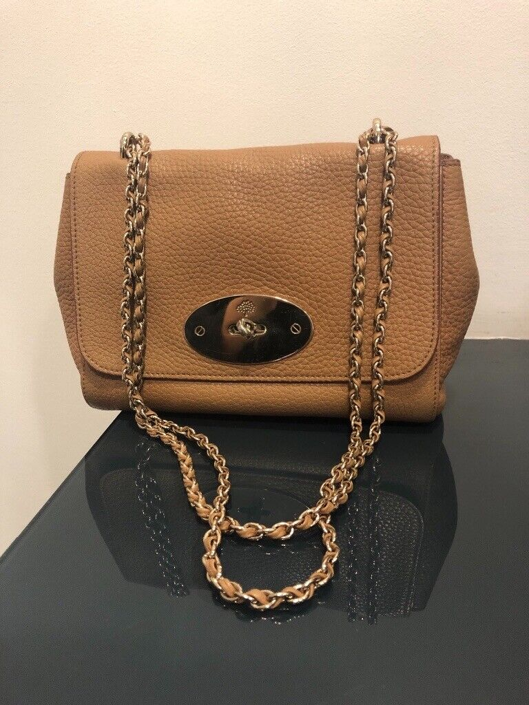 Mulberry Small Lily Bag - Tan Leather  a6844c2ac5652