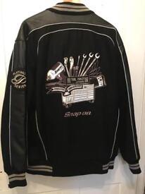Snap-on jacket