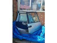 Fiat multipla full set of doors with all parts included