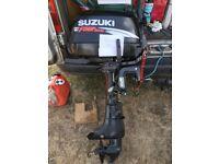 Suzuki 4 hp four stroke outboard engine / motor