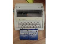 Brother AX 410 electric typewriter