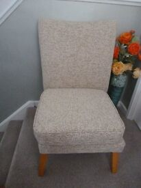 Lounge chair, recently recovered.