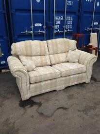 very good condition 3 seater fabric sofa only £55