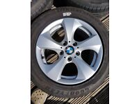 """BMW Fuel Saving 16"""" Alloy wheels and tyres"""