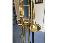 Thomann Bb Valve Trombone, Case and Stand - as good as new, because it is!