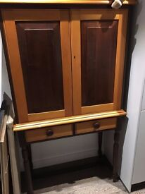 Beautiful wood liquor cabinet for sale in NW6 for 200 pounds