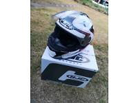 HJC Helmet, RST gloves and boots. Nearly new