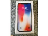 Apple iphone x 64 gb sealed unlocked all netorks