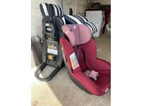 Joie car seat and two bases