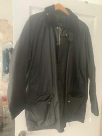 Barbour wax jacket. Xl