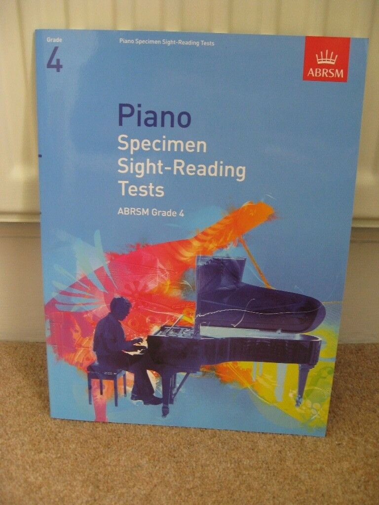 ABRSM Grade 4 Piano Exam Pieces 2017& 2018, Scales & Arpeggios & Sight-Reading £3 each