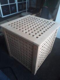 Ikea Hol Storage Cube Table