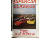 Supercar Classics Magazines, Quaterly issues 1983/85 MAKE ME AN OFFER