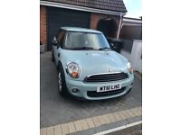 Mini One First 2011 61reg in Ice Blue colour LOW MILEAGE