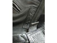 Belstaff Leather Motorbike Trousers