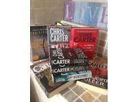 Chris carter novels , whole series
