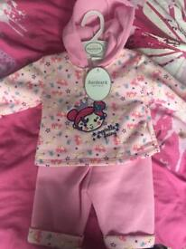 New set, baby girl clothes