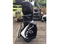Nike Leather Golf Bag